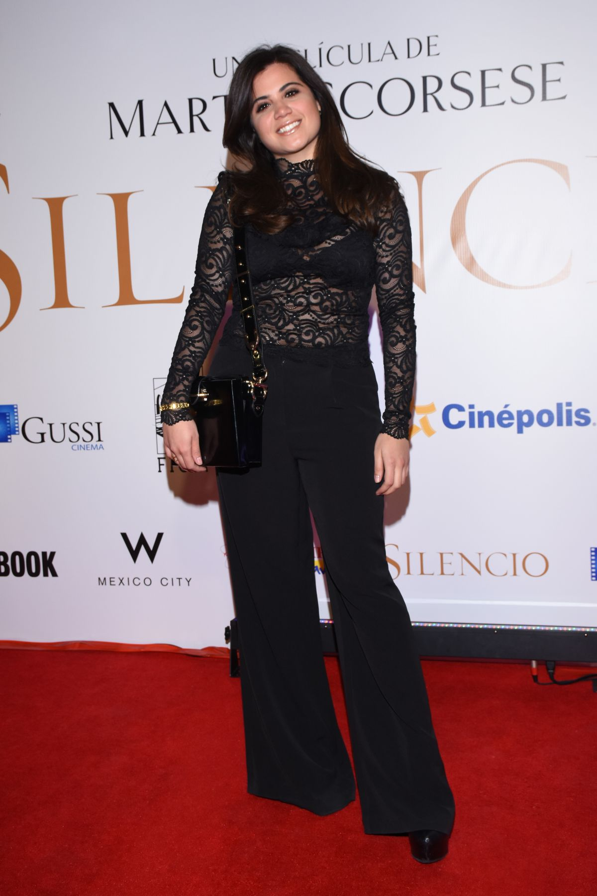 CINTHIA APARICIO at Silence Premiere in Mexico City 02/16/2017