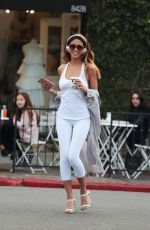 CJ FRANCO at Alfred Coffee in Los Angeles 02/06/2017