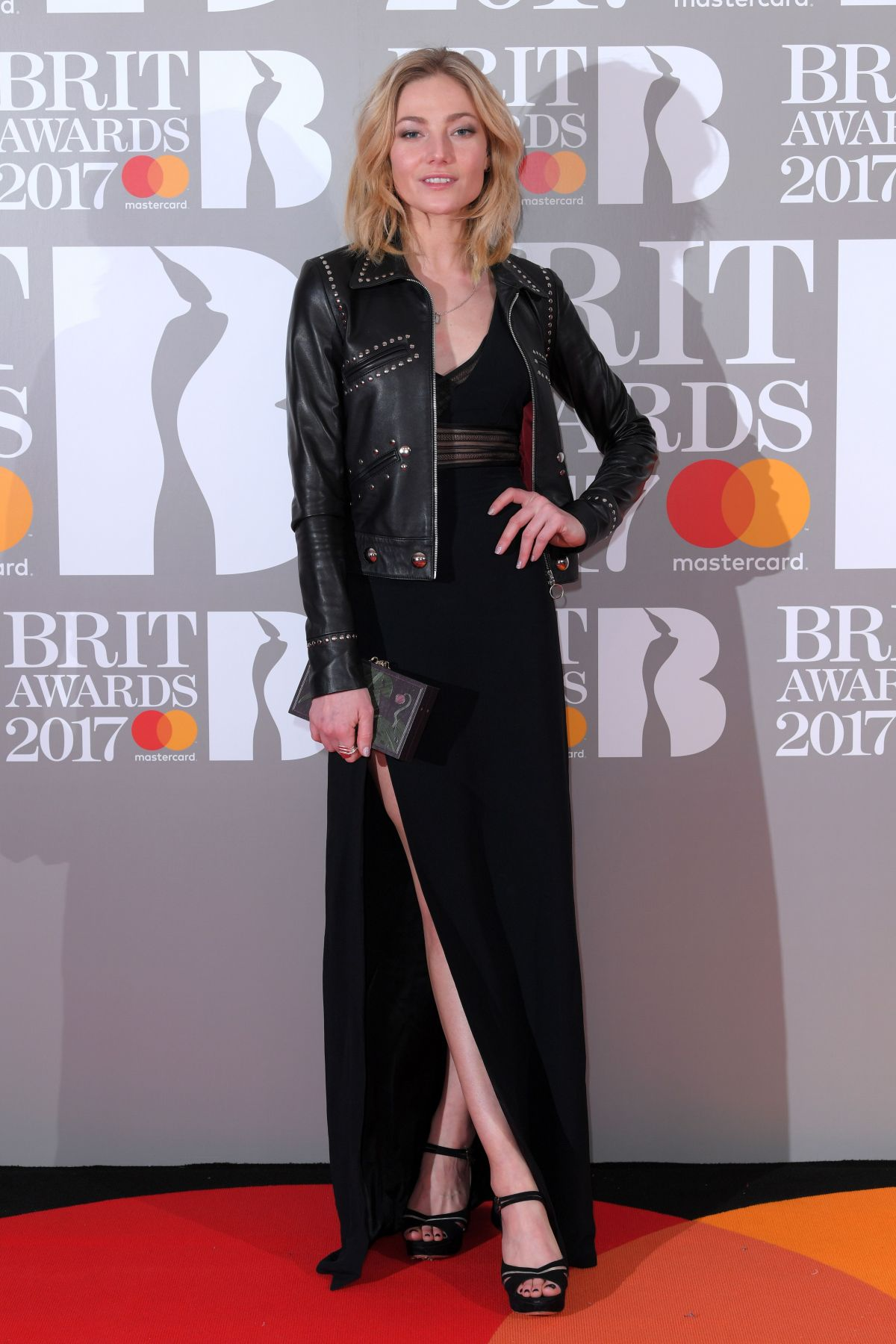 CLARA PAGET at Brit Awards 2017 in London 02/22/2017