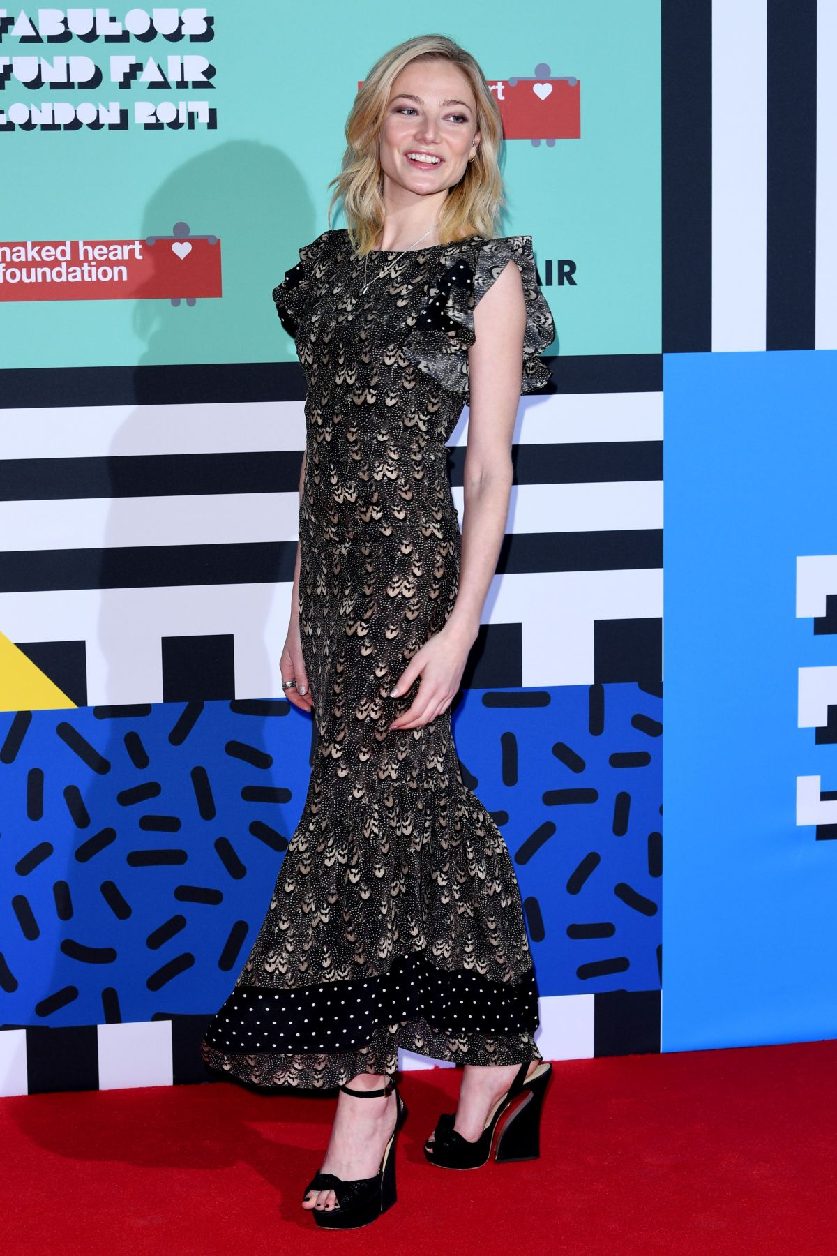 CLARA PAGET at The Naked Heart Foundation Fabulous Fund