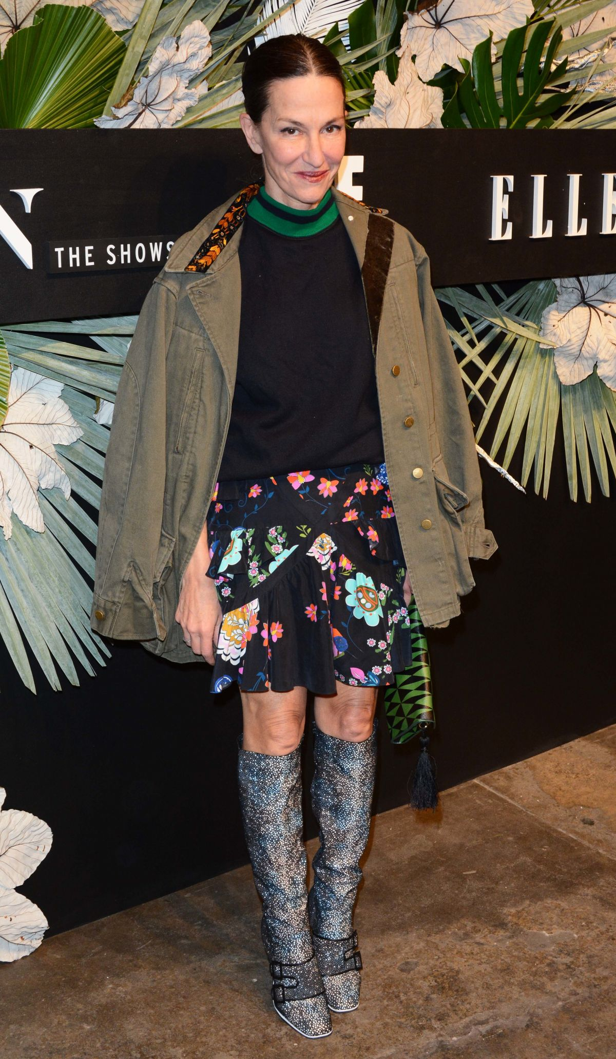 CYNTHIA ROWLEY at ELLE, E! and Img New York Fashion Week Kick-off Party in New York 02/08/2017