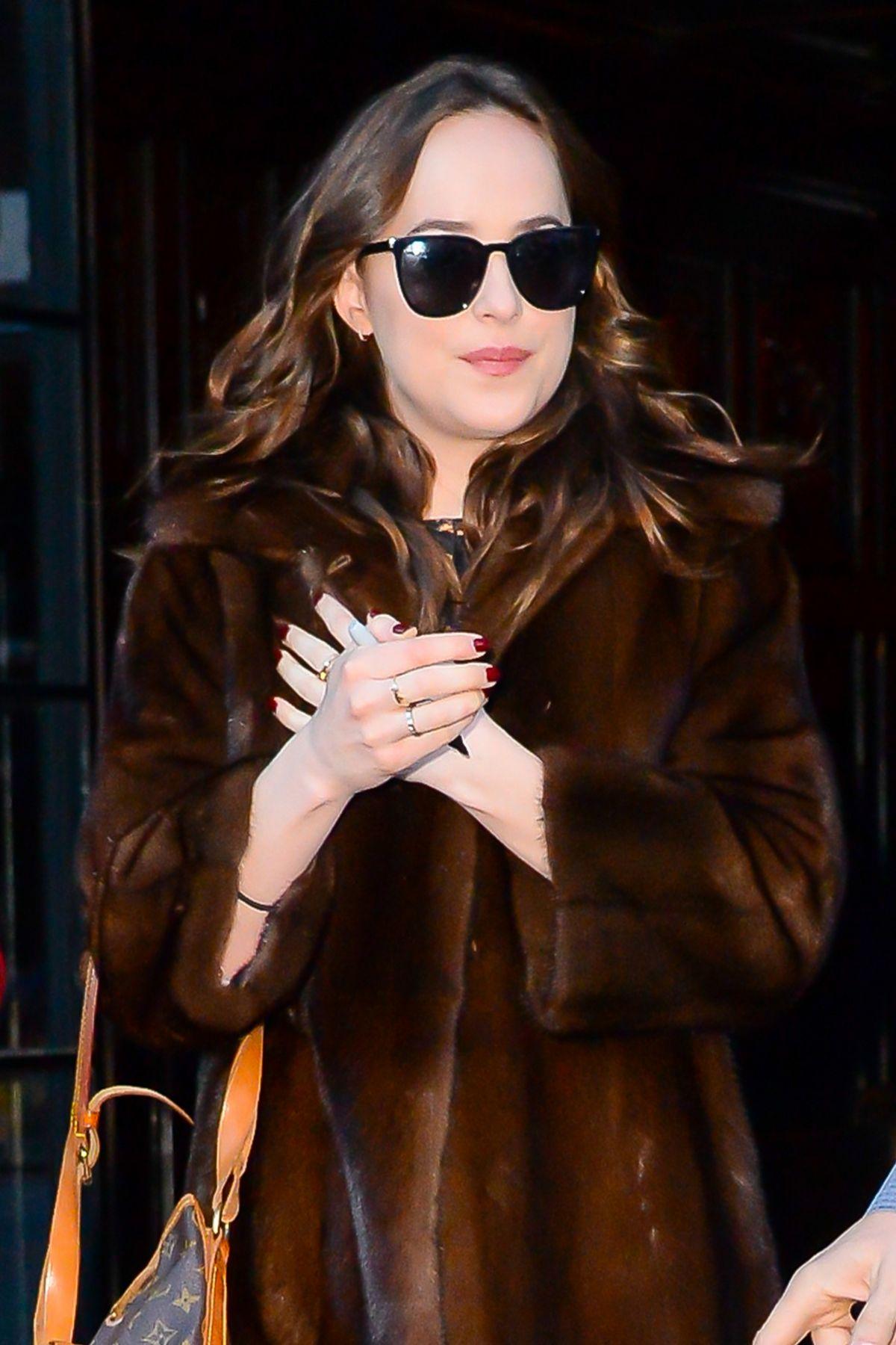 Dakota johnson leaving the bowery hotel in nyc - 2019 year