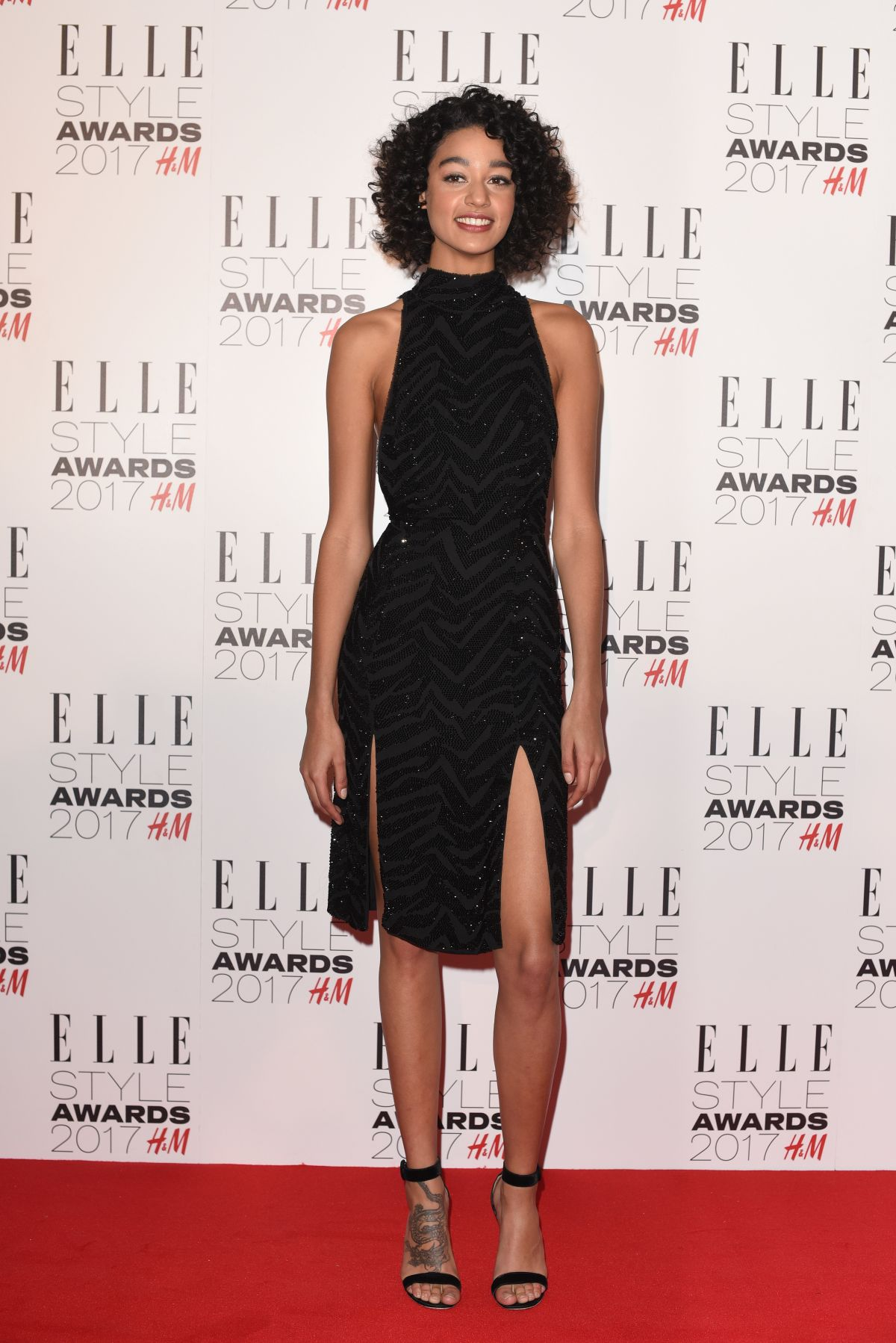 DAMARIS GODDRIE at Elle Style Awards 2017 in London 02/13/2017