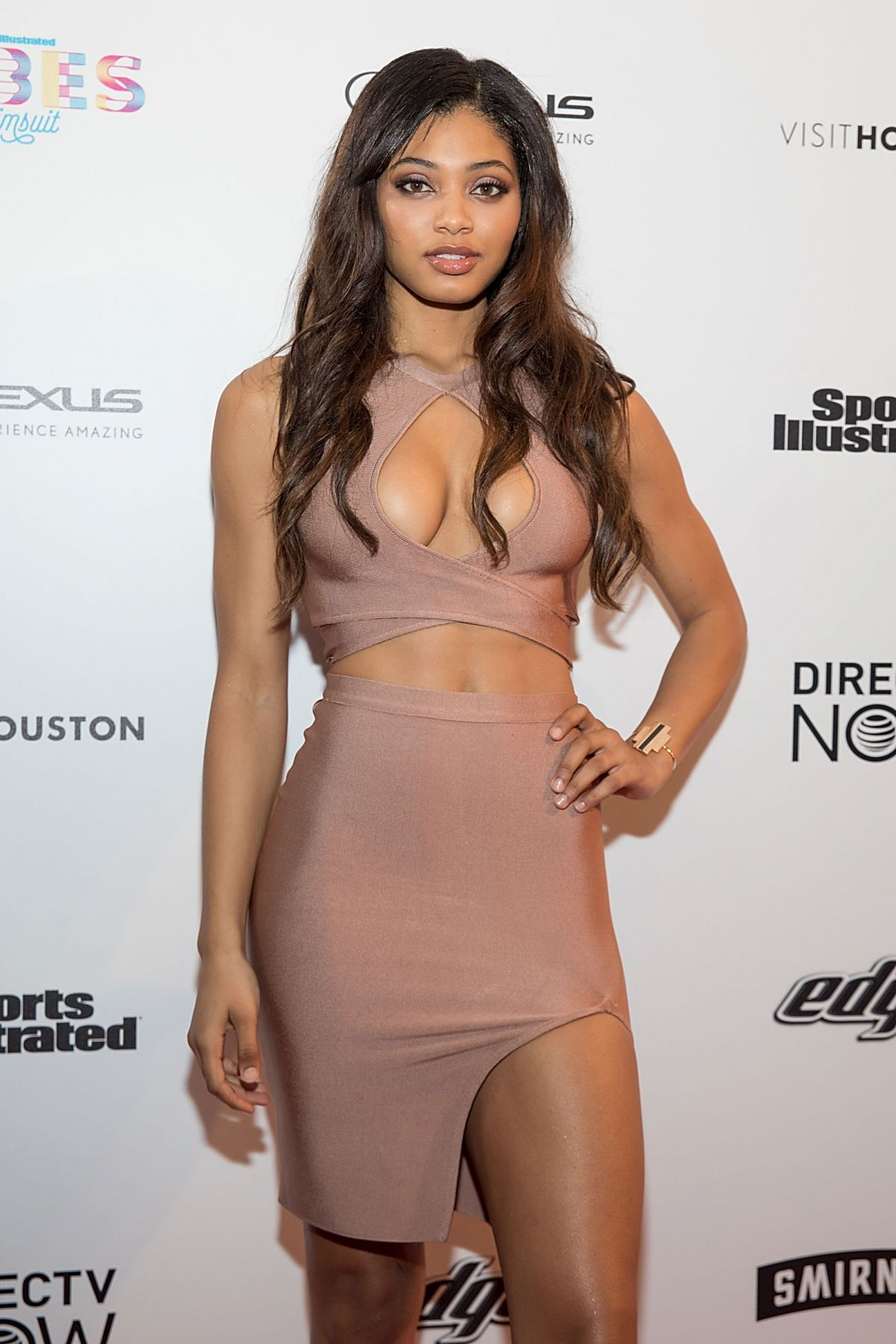 DANEILLE HERRINGTON at VIBES by SI Swimsuit 2017 Launch Festival Day 2 in Houston 02/18/2017