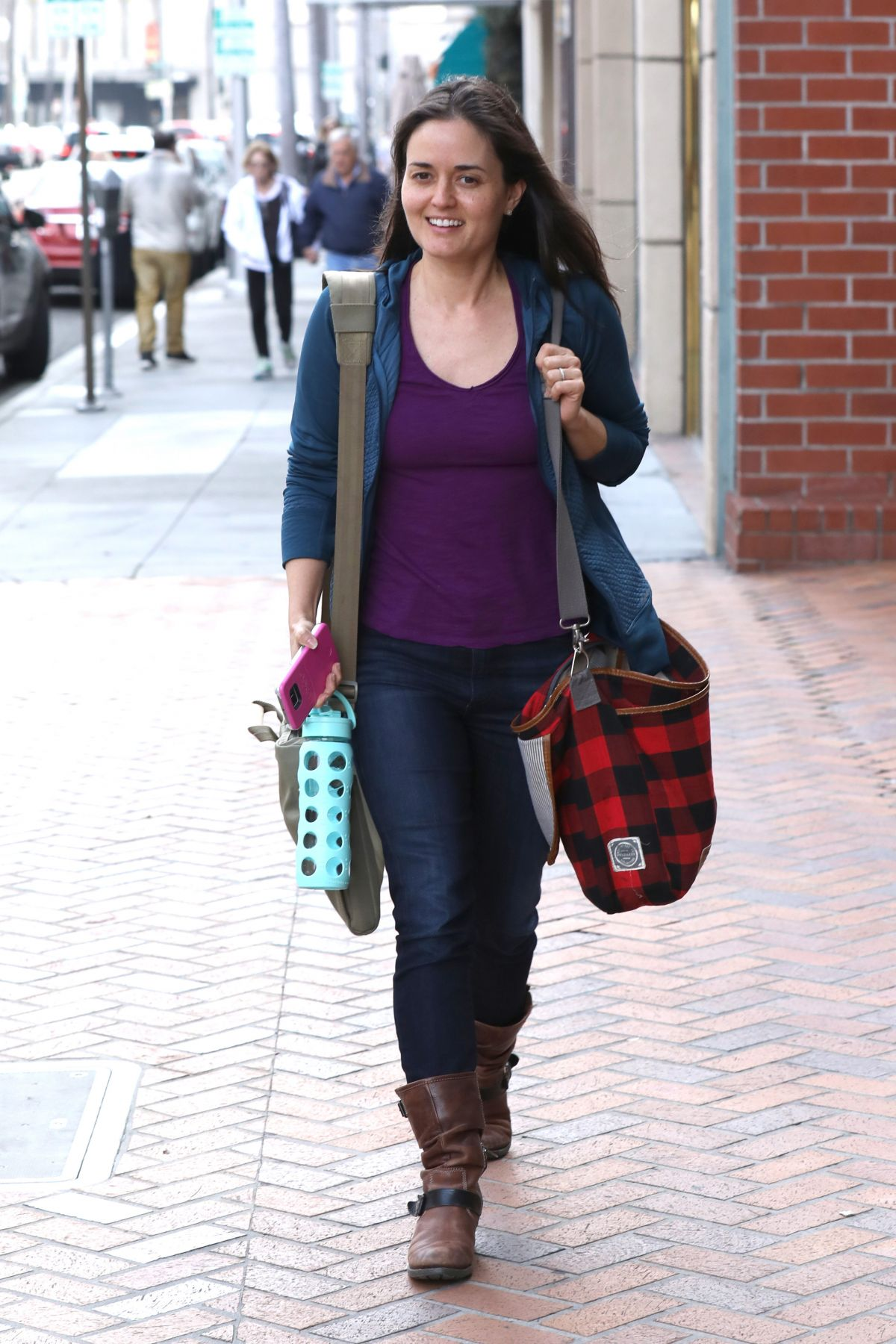 DANICA MCKELLAR Out in Beverly Hills 02/08/2017
