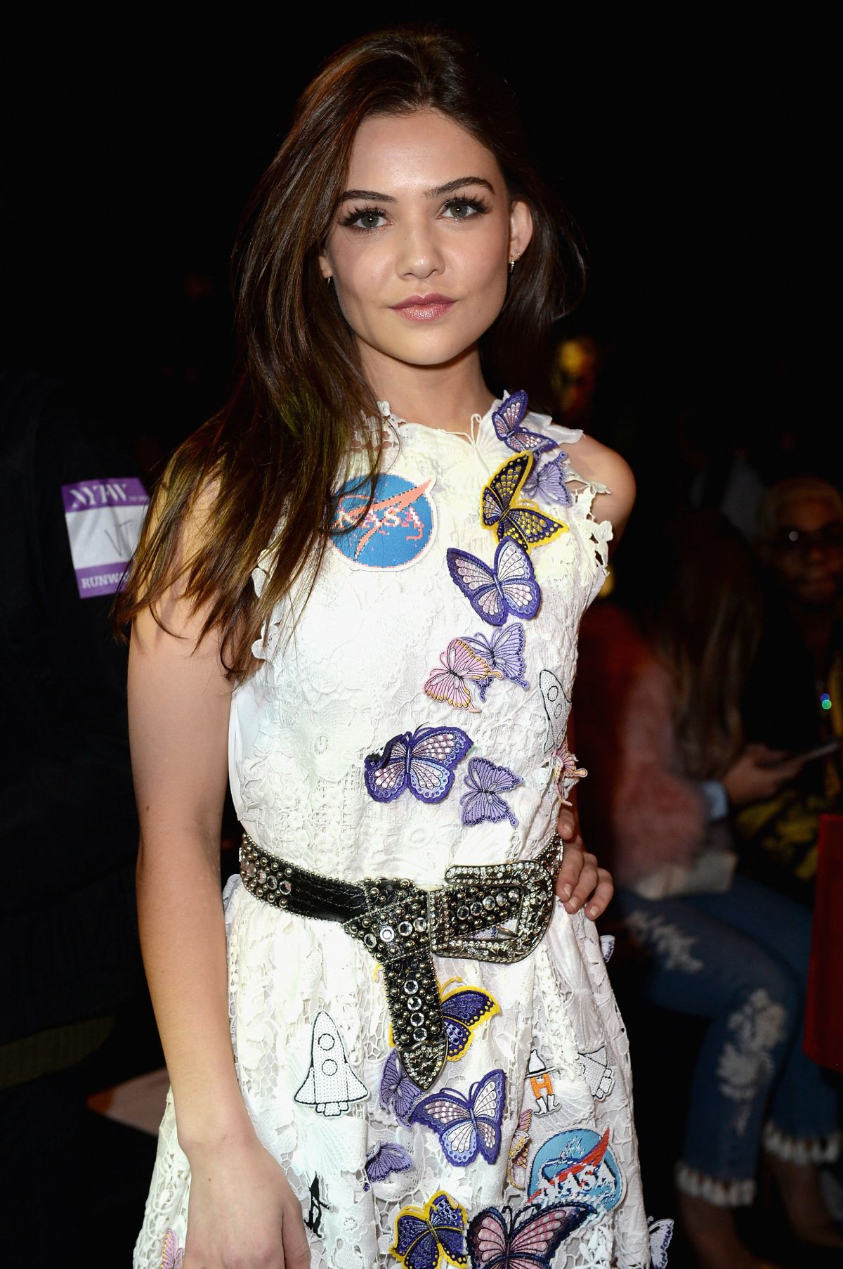 Danielle Does Makeup L L C: DANIELLE CAMPBELL At Vivienne Tam Fashion Show In New York