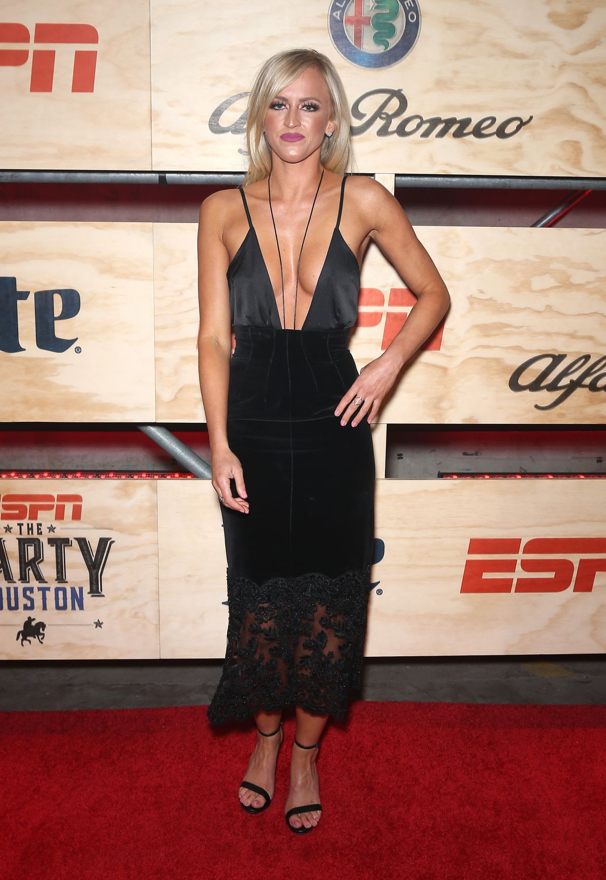 DANIELLE MOINET at 13th Annual ESPN Party in Houston 02/03/2017