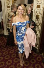 DANNII MINOGUE at 'The Girls' Musical Press Night in London 02/21/2017