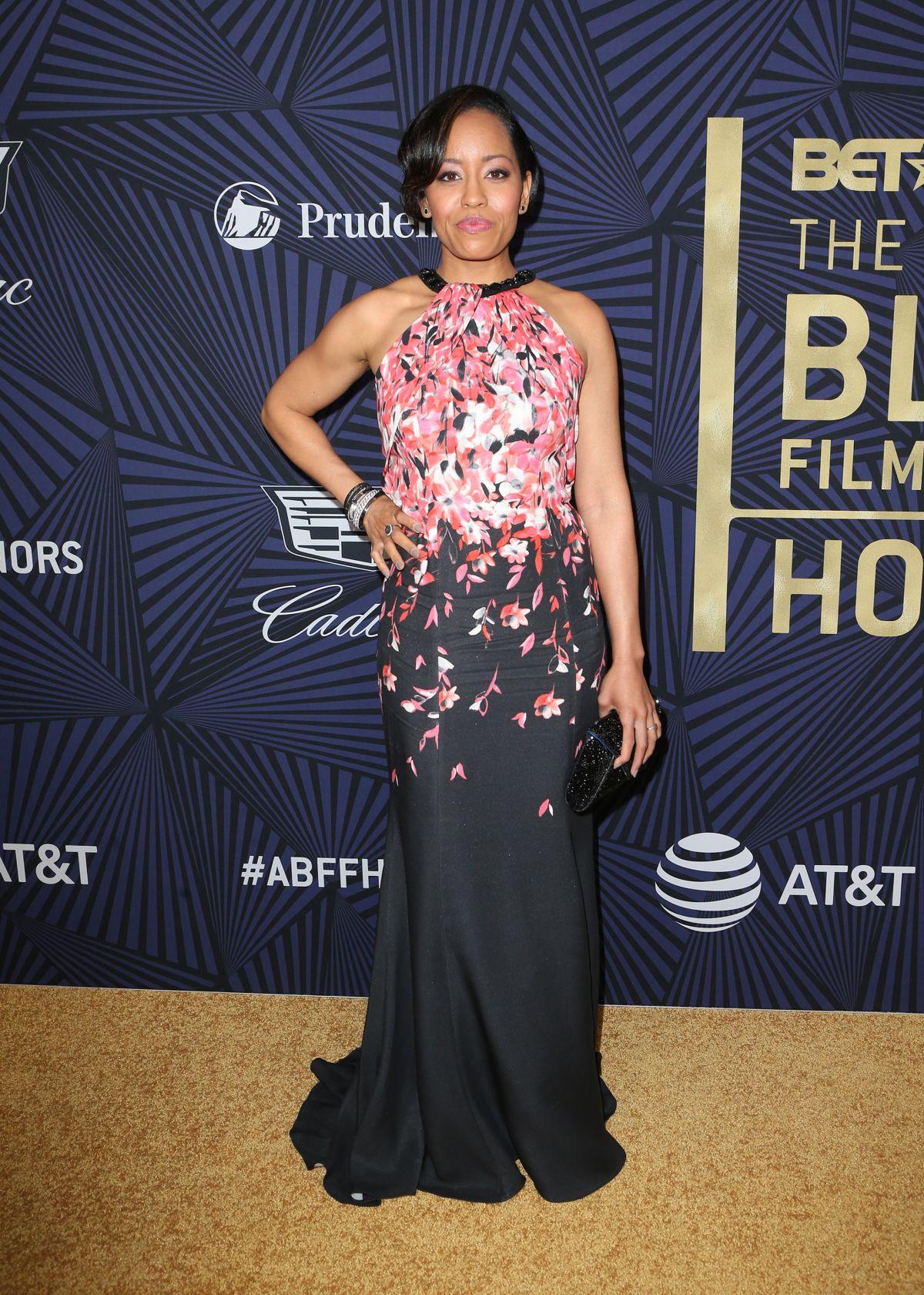 DAWN-LYEN GARDNER at Bet's 2017 American Black Film Festival Honors Awards in Beverly Hills 02/17/2017