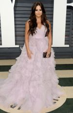 DEMI LOVATO at 2017 Vanity Fair Oscar Party in Beverly Hills 02/26/2017