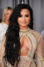 DEMI LOVATO at 59th Annual Grammy Awards in Los Angeles 02/12/2017