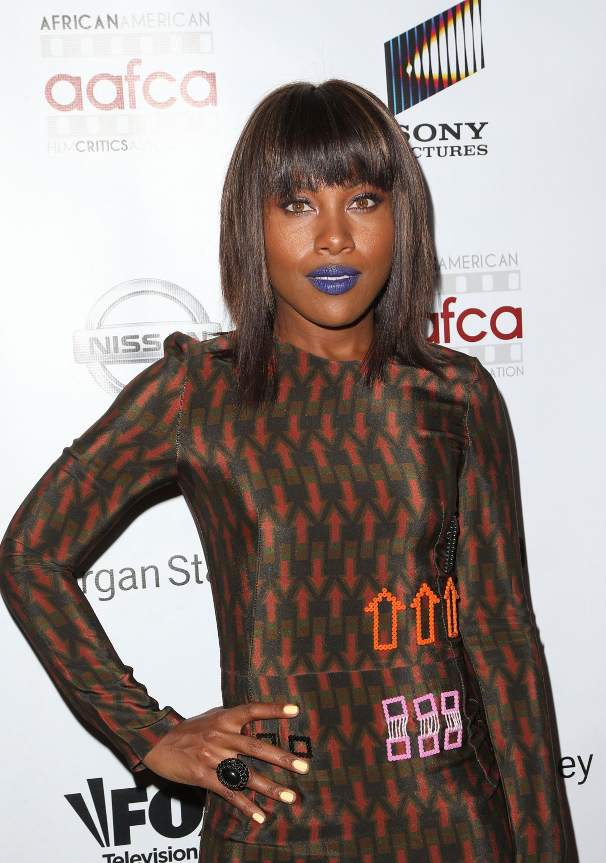 DEWANDA WISE at 8th Annual AAFCA Awards in Los Angeles 02/08/2017