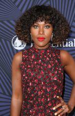 DEWANDA WISE at Bet's 2017 American Black Film Festival Honors Awards in Beverly Hills 02/17/2017