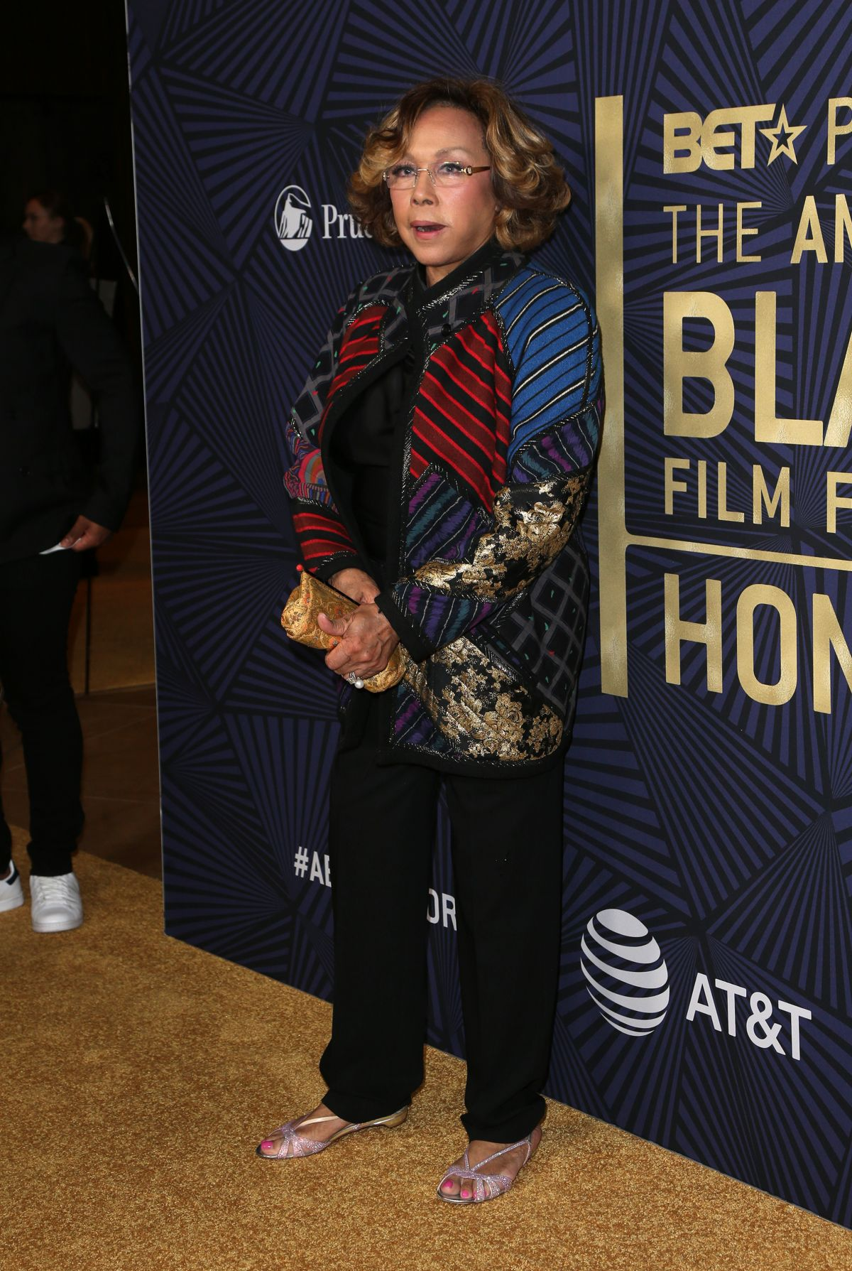 DIAHANN CARROLL at Bet's 2017 American Black Film Festival Honors Awards in Beverly Hills 02/17/2017