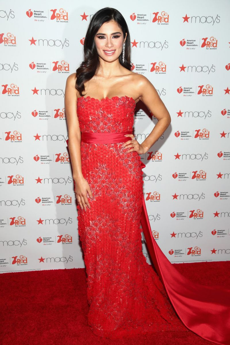 Luxury  Women Red Dress Collection 2017 In New York 02092017  HawtCelebs