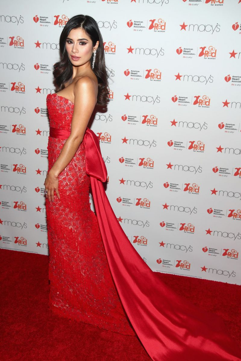 Excellent  Associations Go Red For Women Red Dress Collection 2017 02  GotCeleb
