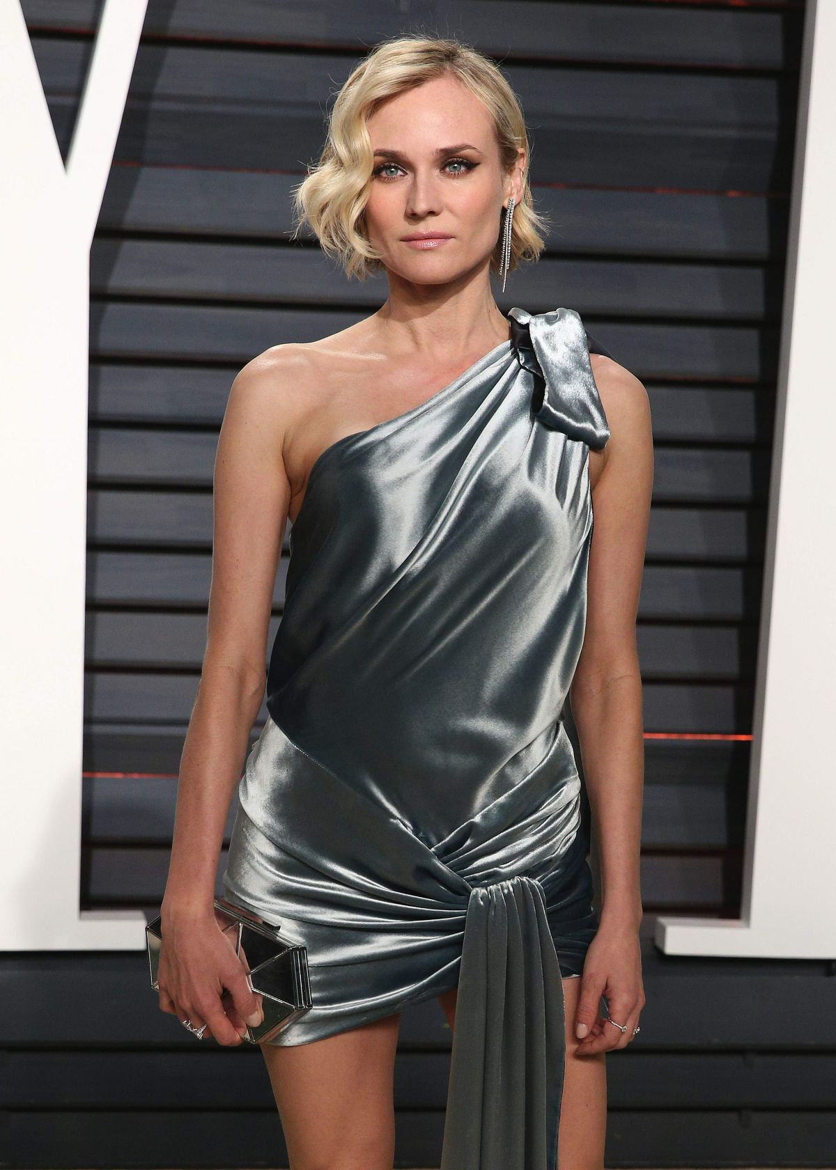 Diane Kruger At 2017 Vanity Fair Oscar Party In Beverly