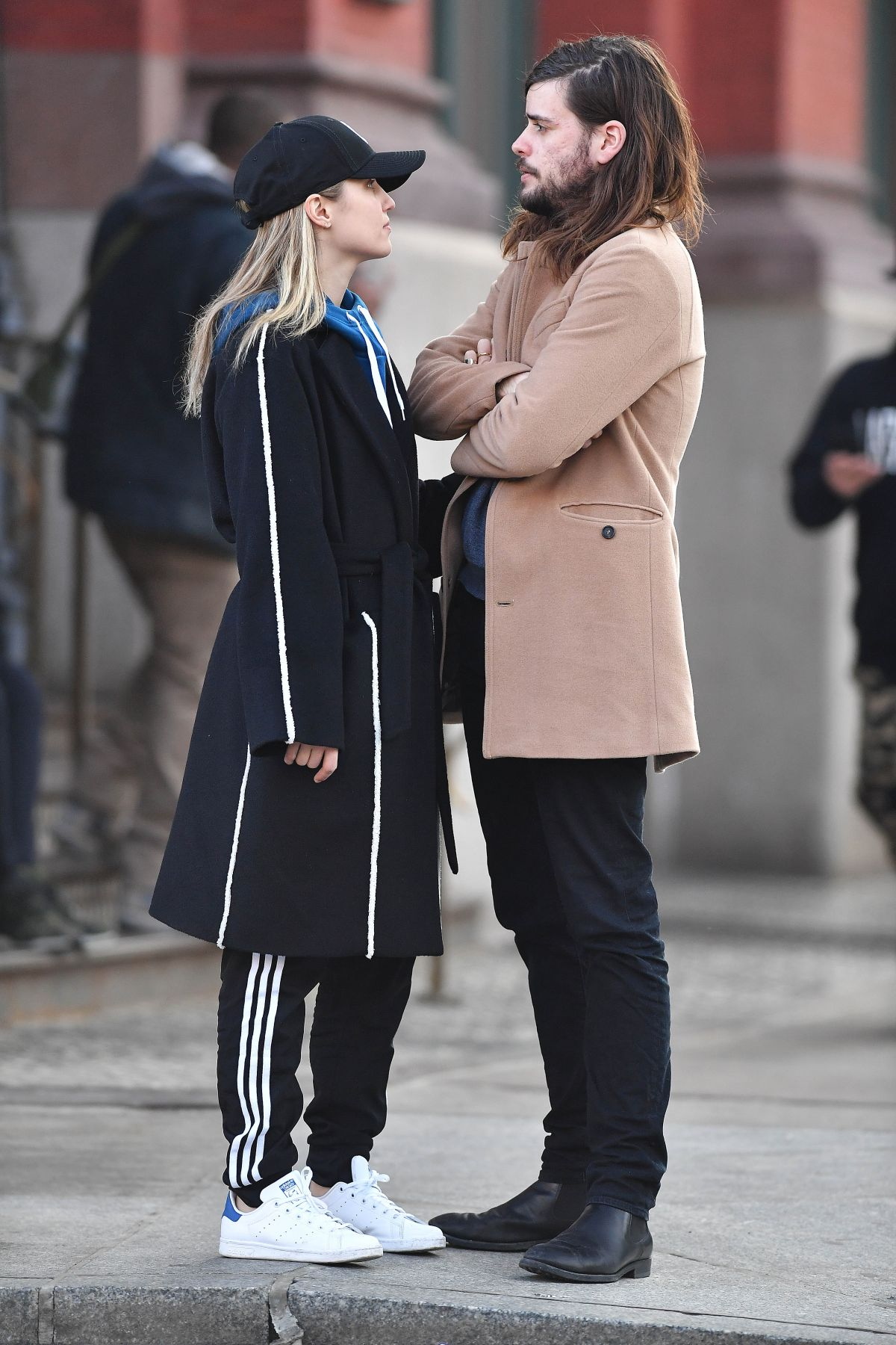 DIANNA AGRON and Winston Marshall Out in New York 02/23 ...