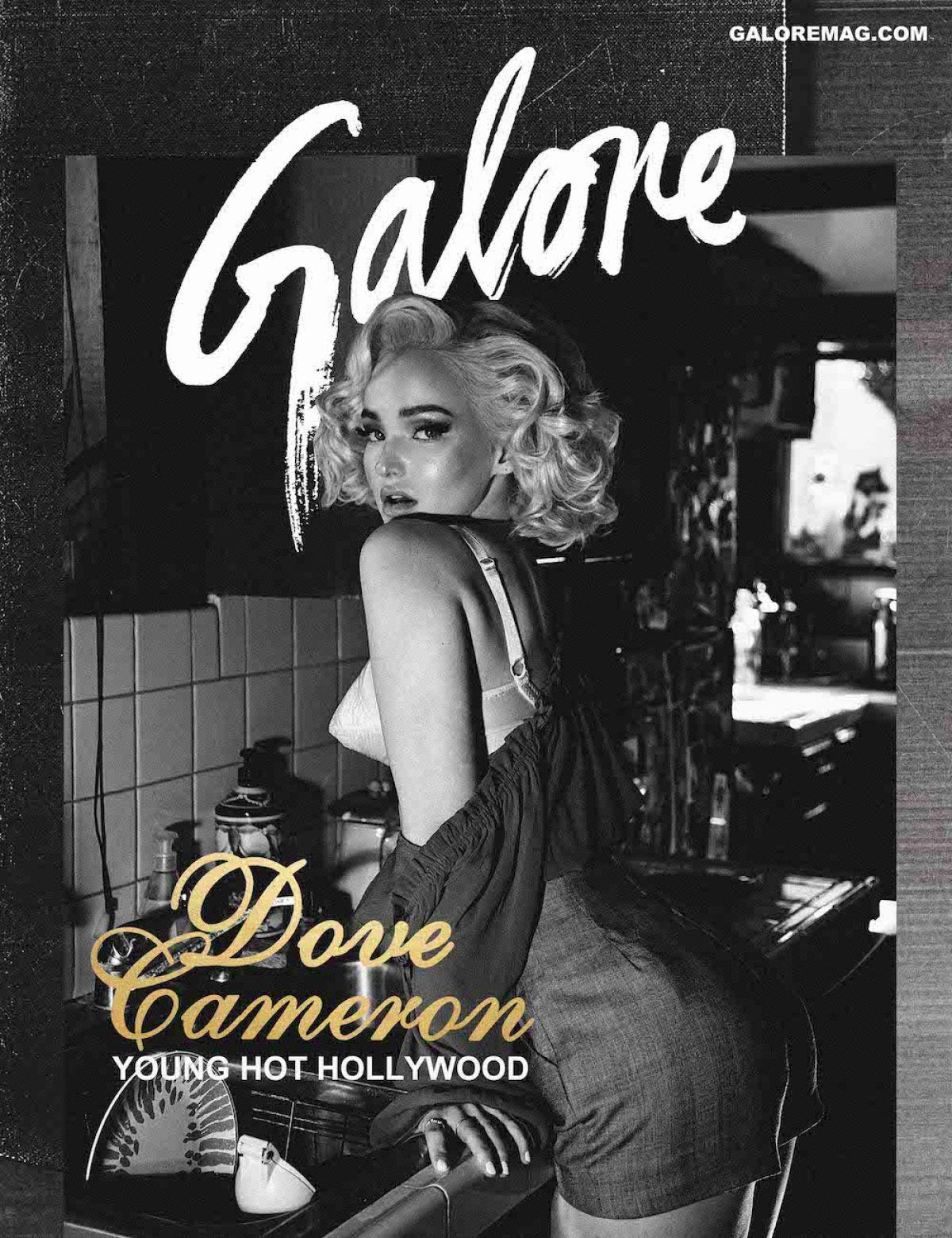 DOVE CAMERON in Galore Magazine, February 2017