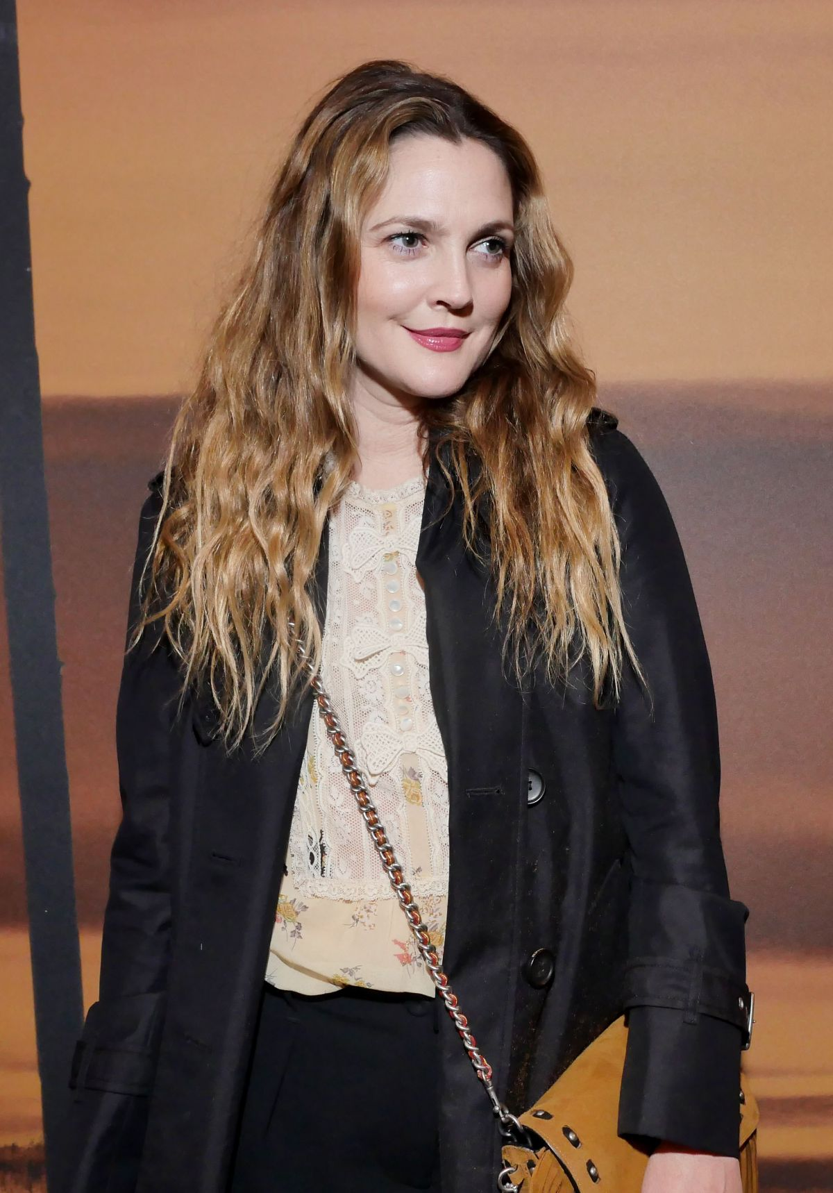 DREW BARRYMORE at Coach Fashion Show at New York Fashion ... Drew Barrymore
