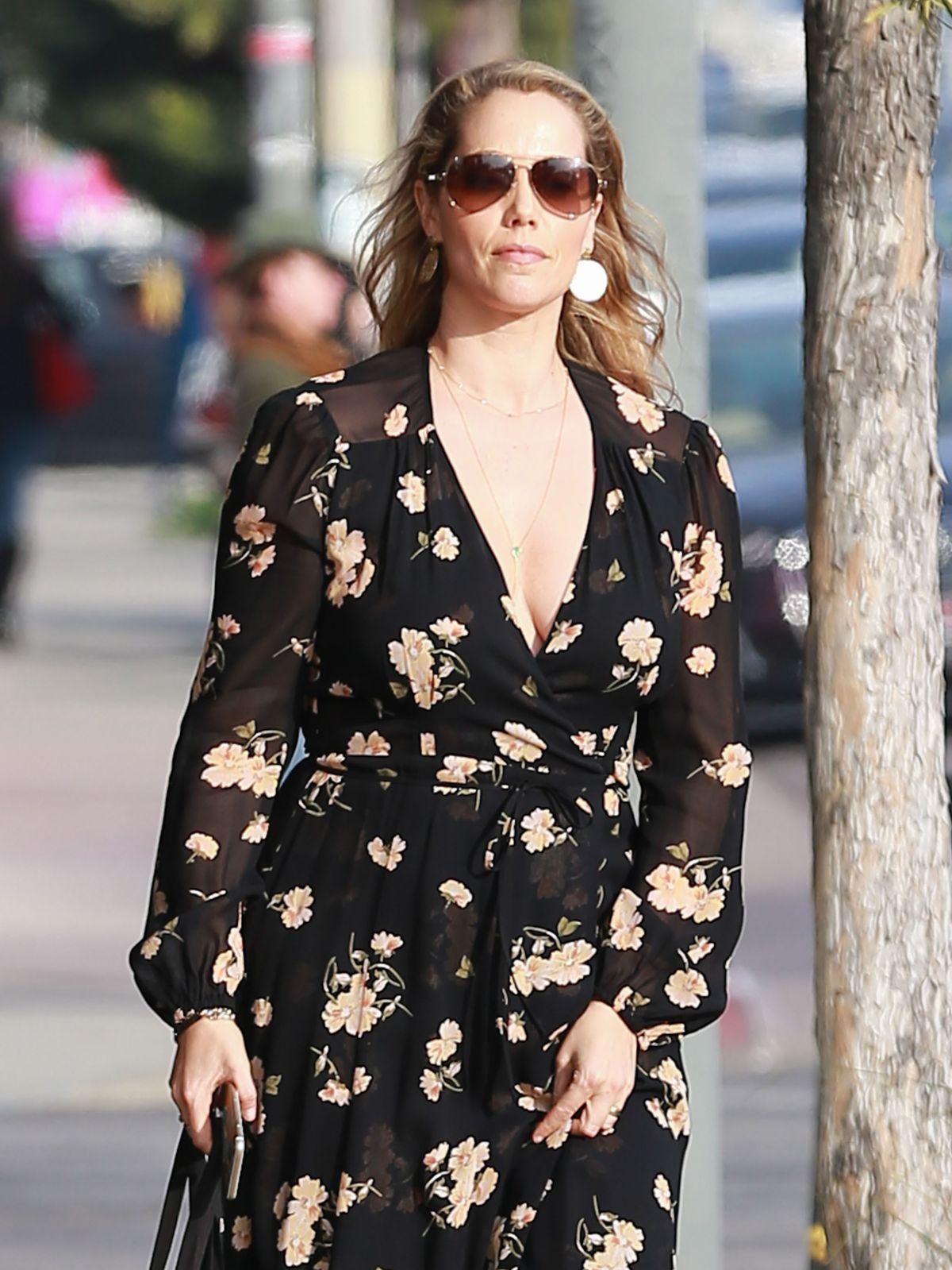 ELIZABETH BERKLEY Out for Shopping in West Hollywood 02/01/2017