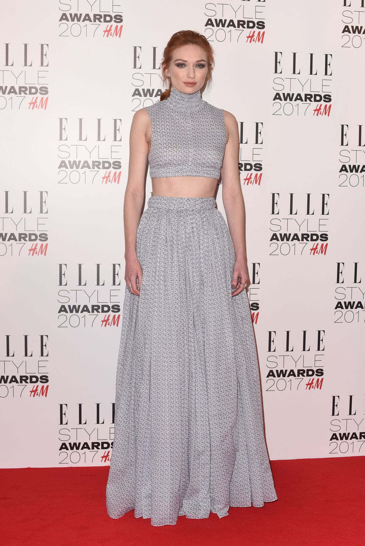 ELEANOR TOMLINSON at Elle Style Awards 2017 in London 02/13/2017