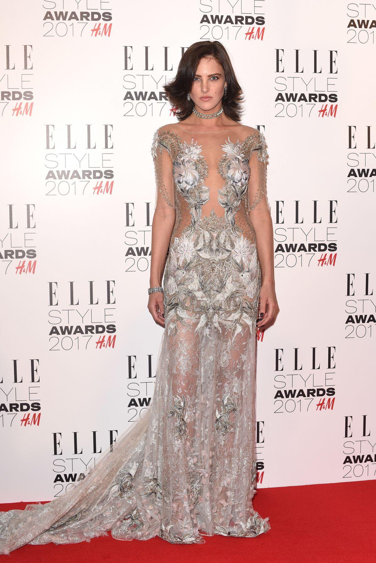 ELIZA CUMMINGS at Elle Style Awards 2017 in London 02/13/2017