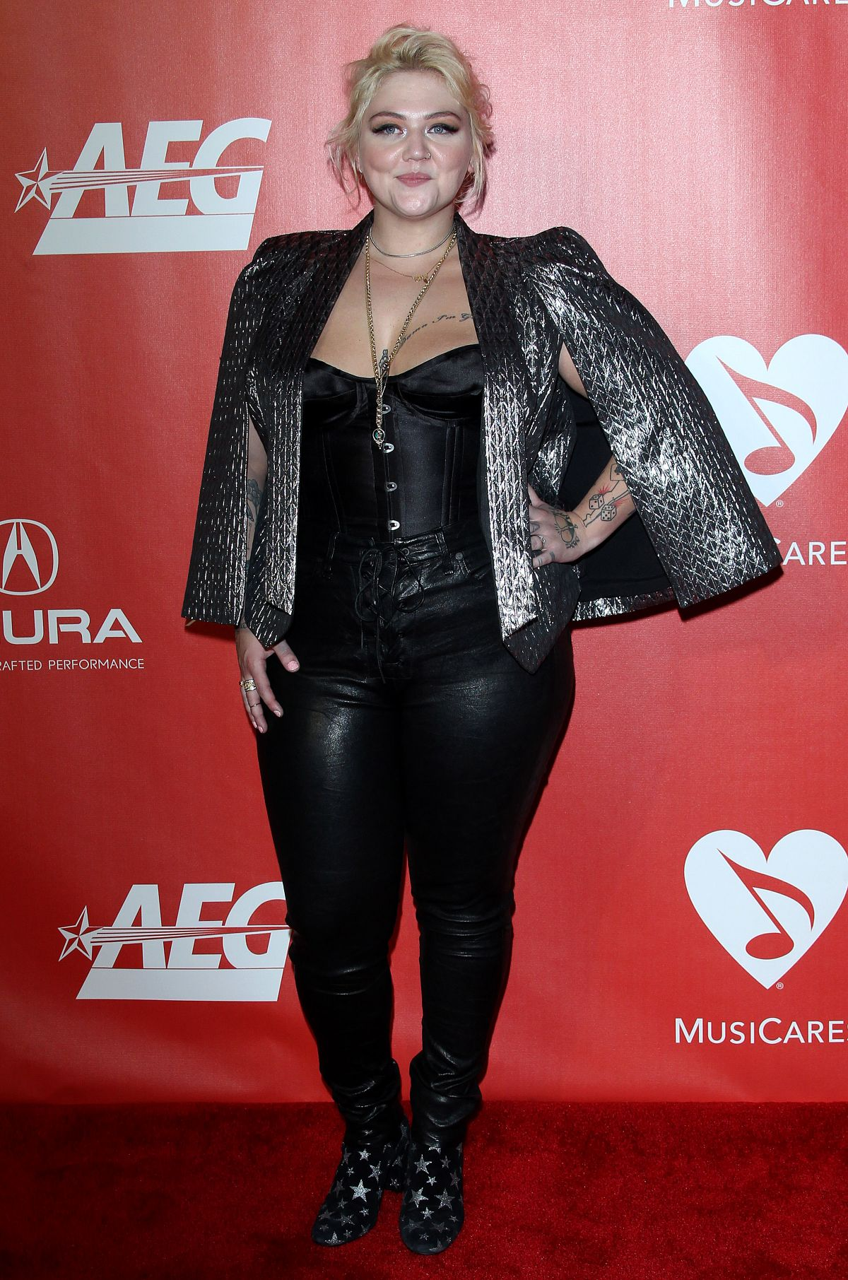 ELLE KING at 59th Grammy Awards: MusiCares Person of the Year Honoring Tom Petty 02/10/2017