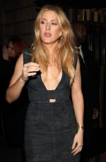 ELLIE GOULDIING Arrives at Burberry Fashion Show After Party in London 02/20/2017