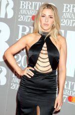 ELLIE GOULDING at Brit Awards 2017 in London 02/22/2017