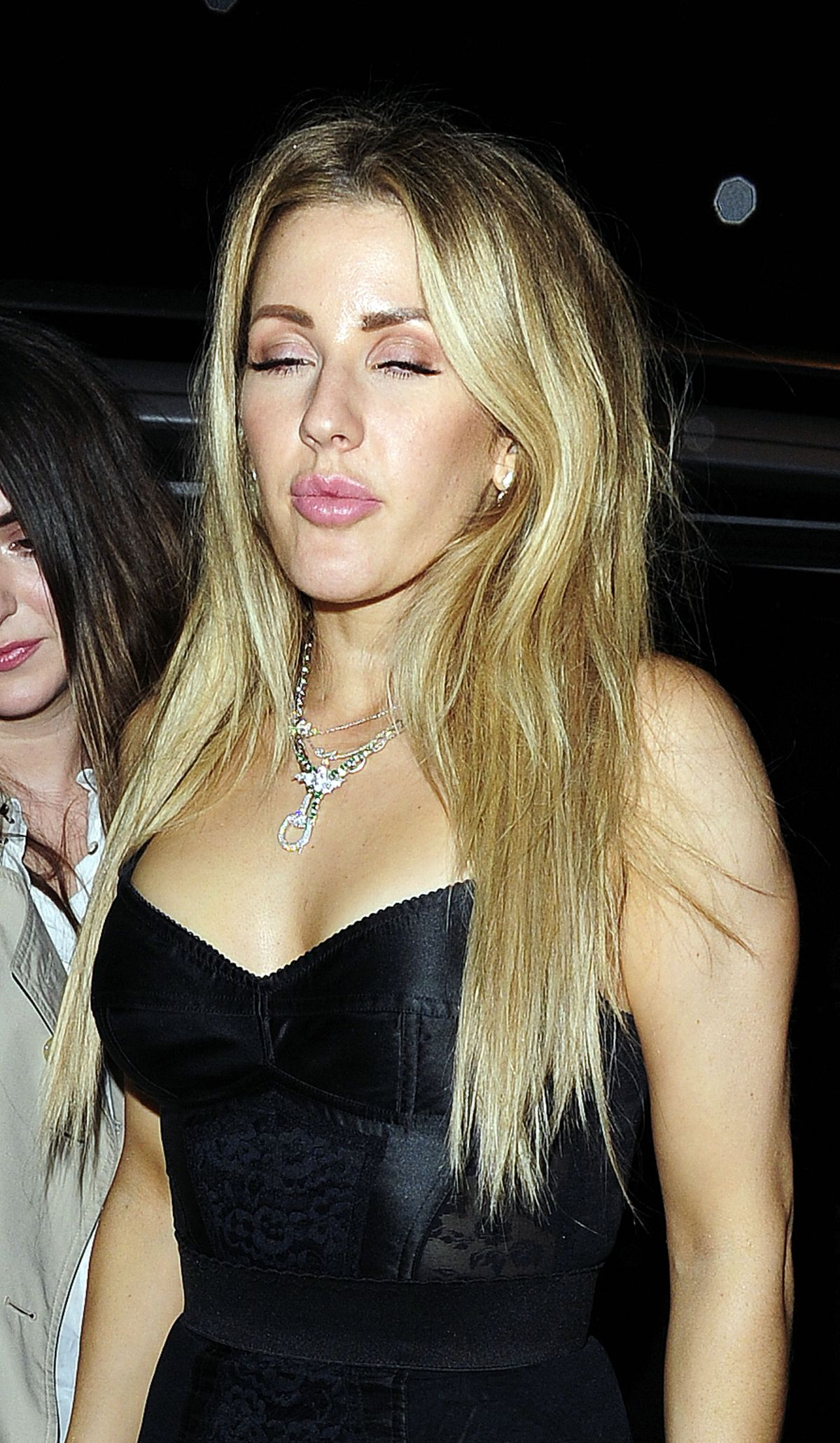 ELLIE GOULDING at Universal and Warner Music Brit Awards ...