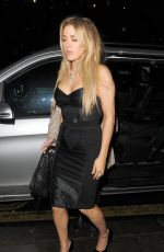 ELLIE GOULDING at Universal and Warner Music Brit Awards Party in London 02/22/2017