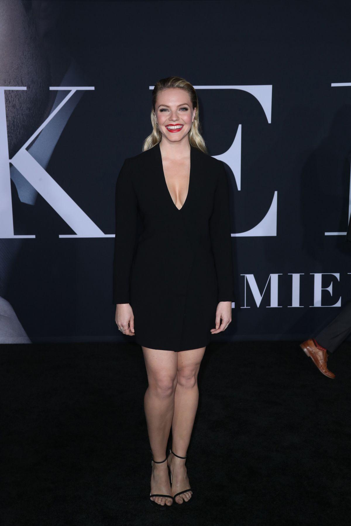 ELOISE MUMFORD at 'Fifty Shades Darker' Premiere in Los Angeles 02/02/2017
