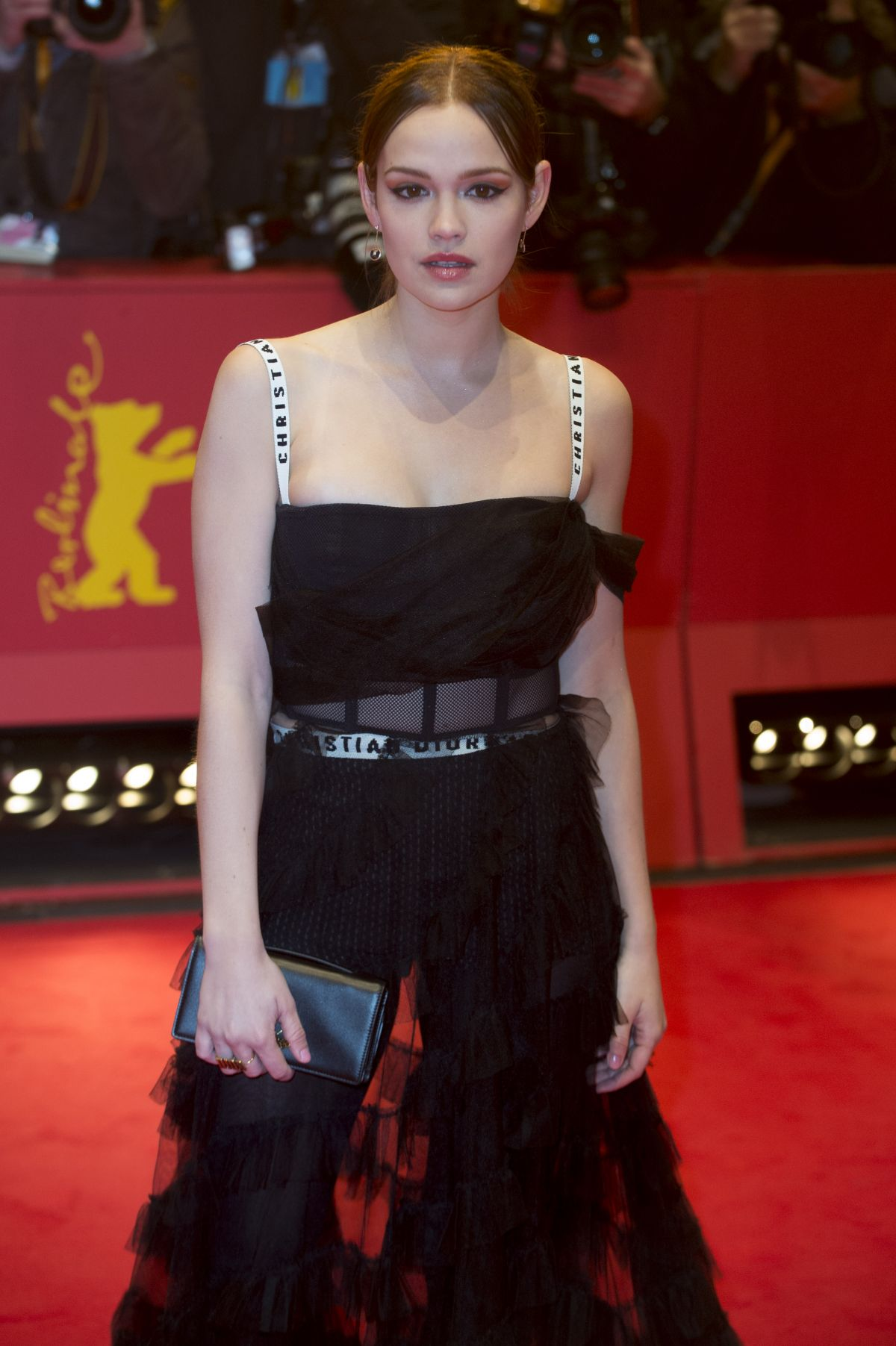 EMILIA SCHUELE at 67th Berlinale International Film Festival 02/09/2017