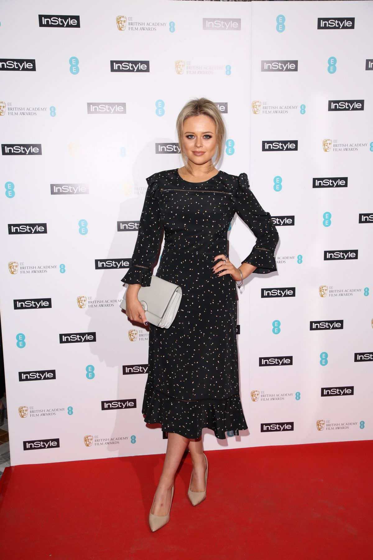 EMILY ATACK at Instyle EE Rising Star Party in London 02/01/2017