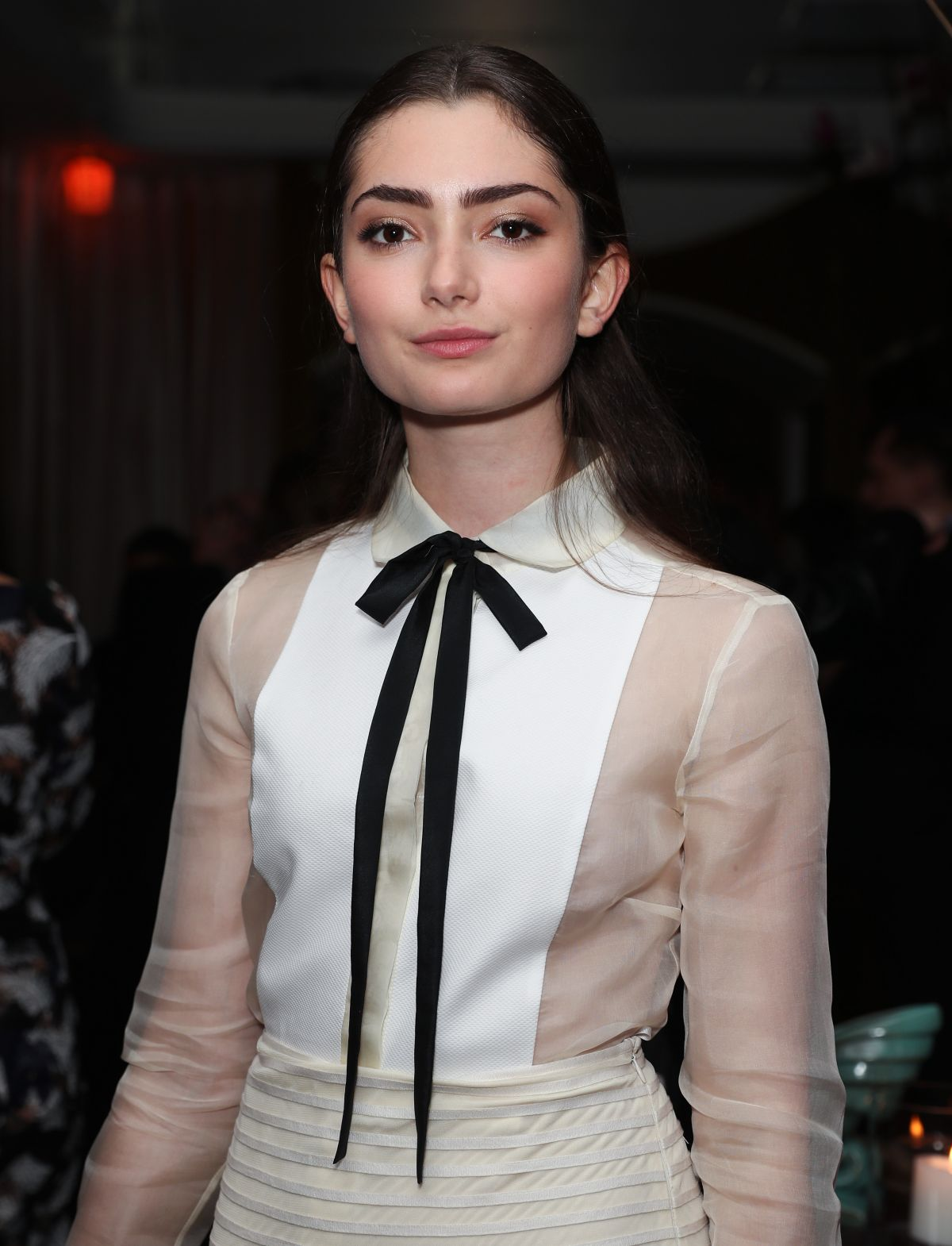 EMILY ROBINSON at Vanity Fair and L'Oreal Paris Toast to Young Hollywood in West Hollywood 02/21/2017