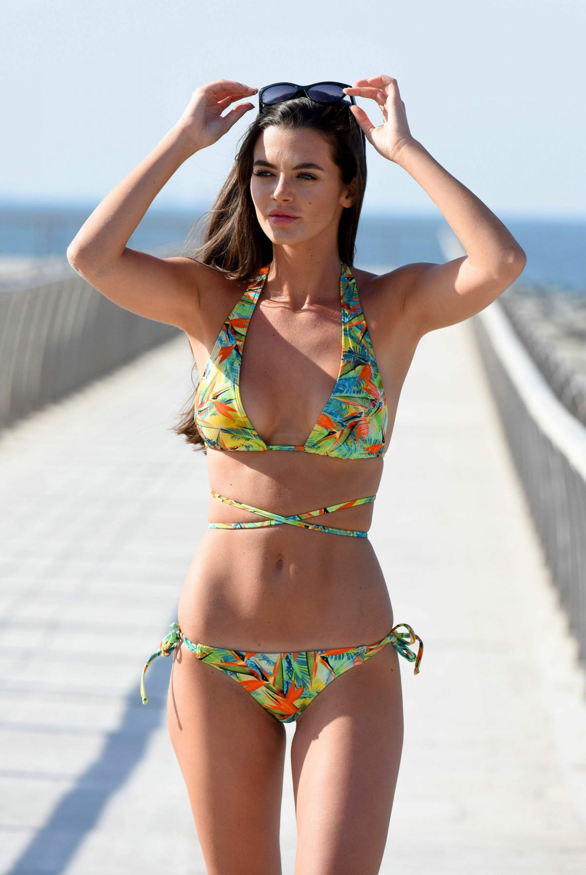 EMMA MCVEY in Bikini in Dubai 01/31/2017