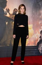 EMMA WATSON Arrives at Beauty and the Beast Photocall in London 02/24/2017