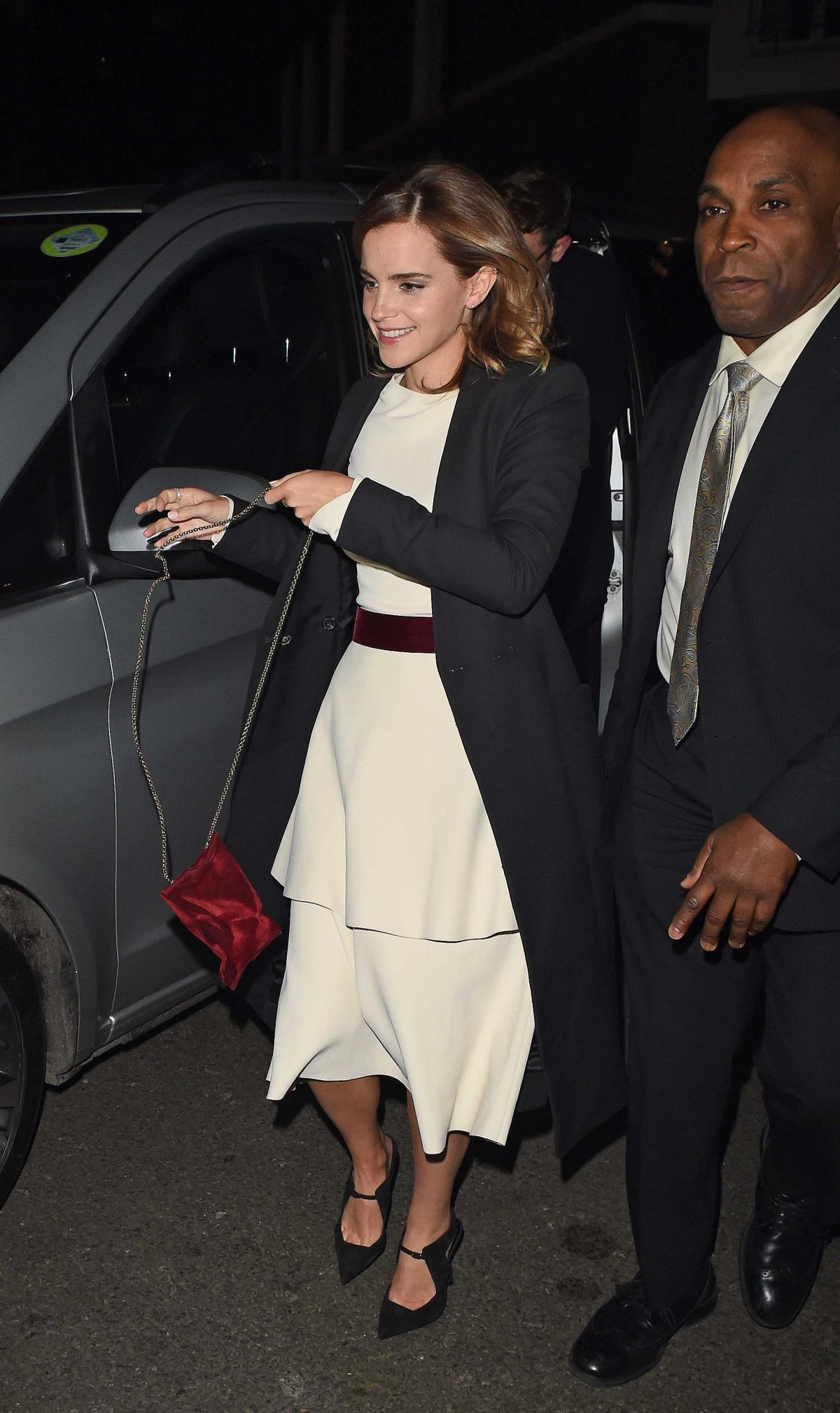 EMMA WATSON Arrives at Beauty and the Beast Premiere After Party in London 02/23/2017