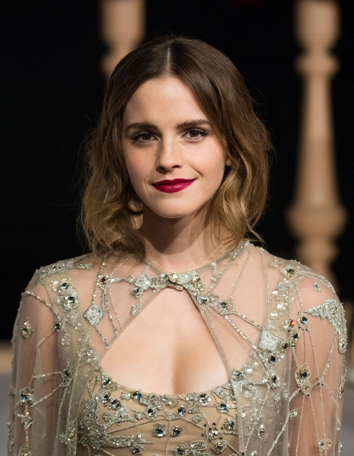 EMMA WATSON Arrives at Beauty and the Beast Premiere in Shanghai 02/27/2017