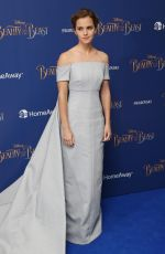 EMMA WATSON at Beauty and the Beast Launch Event in London 02/23/2017