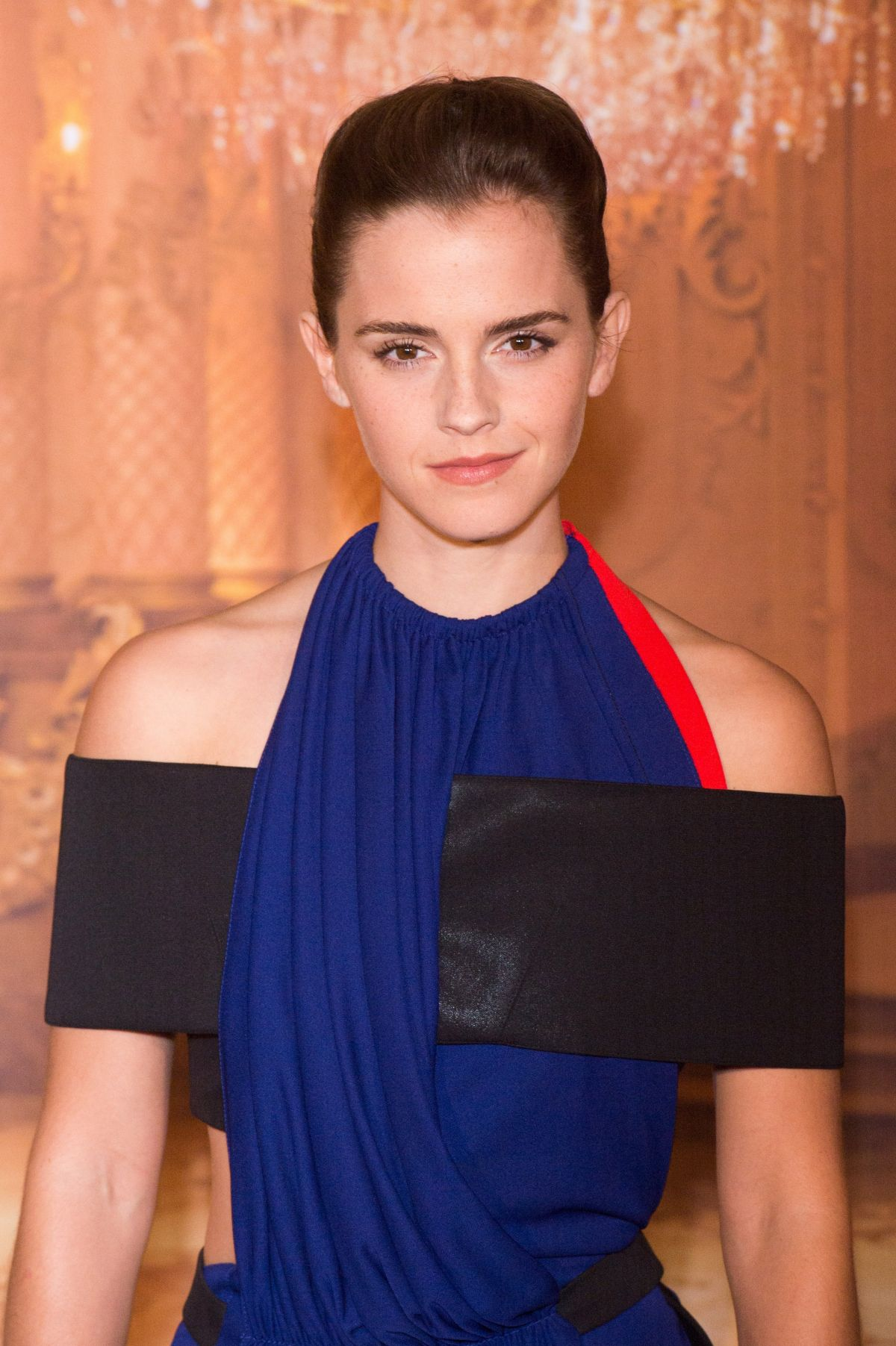 EMMA WATSON at Beauty and the Beast Photocall in Paris 02/20/2017