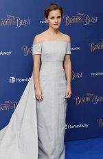 EMMA WATSON at Beauty and the Beast Premiere in London 02/23/2017