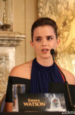 EMMA WATSON at Beauty and the Beast Press Conference in Paris 02/20/2017