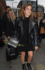 EMMA WATSON at Gare Du Nord in Paris 02/21/2017