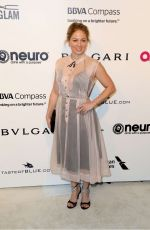 ERIKA CHRISTENSEN at 25th Annual Elton John Aids Foundation's Oscar Viewing Party in Hollywood 02/26/2017