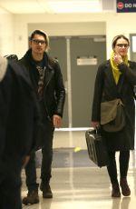 EVAN RACHEL WOOD at LAX Airport in Los Angeles 02/19/2107