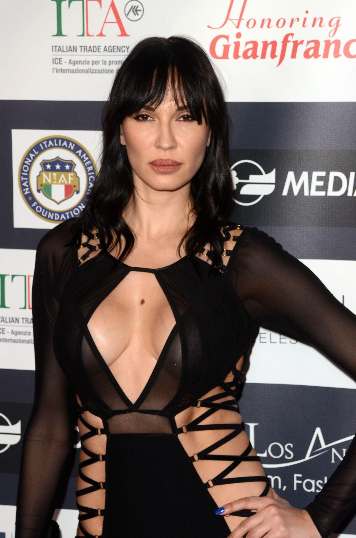 EVGENIYA CHERNYSHOVA at 12th Los Angeles Italia Film, Fashion and Art Festival 02/19/2017