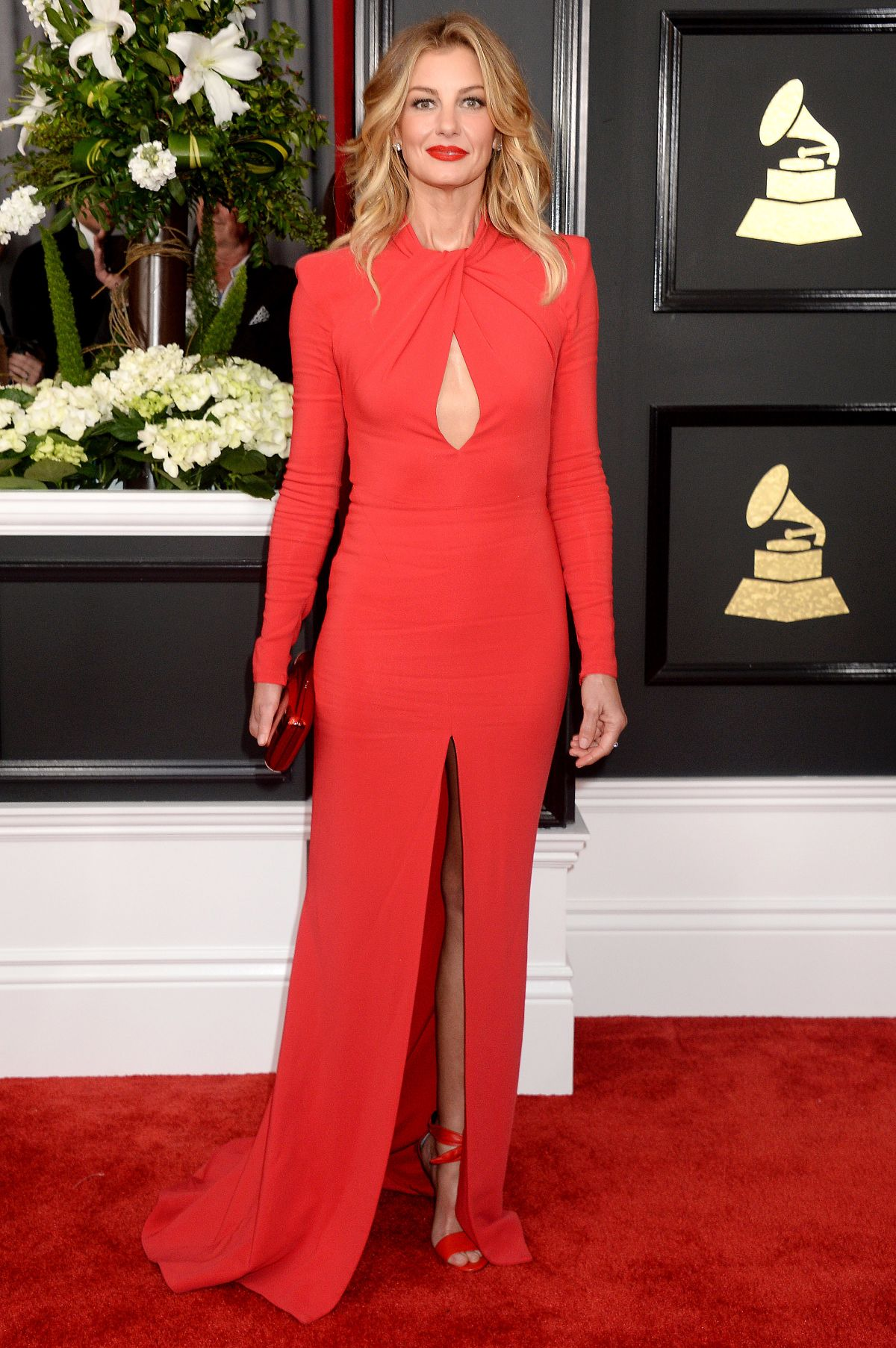 FAITH HILL at 59th Annual Grammy Awards in Los Angeles 02/12/2017