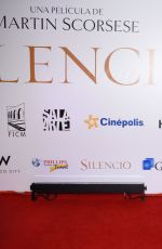 FANNY LU at Silence Premiere in Mexico City 02/16/2017
